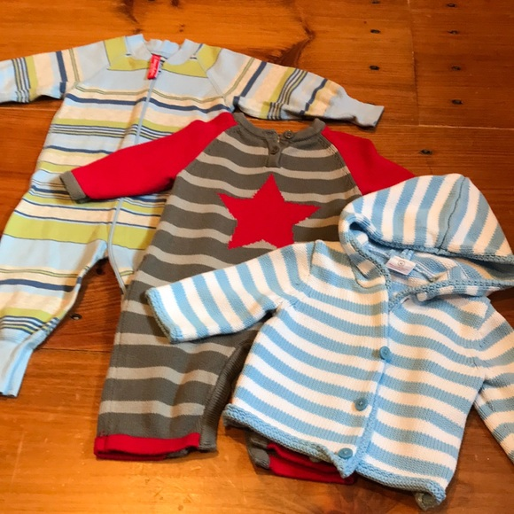 HANNA ANDERSSON 60 *Bundle/3* Organic Knit Boy Lot
